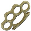 100 % Real Genuine Brass Buckle Knuckles & Paperweight
