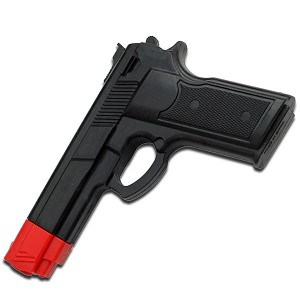 Self Defense Training Rubber Gun - Black