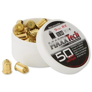 9mm RK .380 Revolver Blank Rounds, 50 Count Extra Loud Full Loads