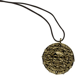 Pirate's Medallion Necklace