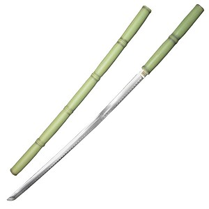Bamboo Stick Sword - Green Finish