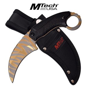 MTech USA 8 inch Fixed Blade Karambit Style Knife