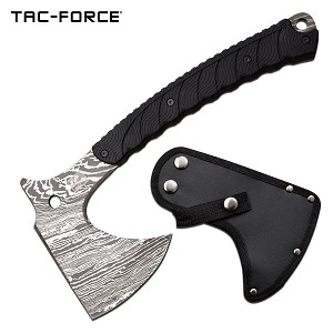 Tac Force 13 Inch Full Tang Tactical Axe Etched Blade