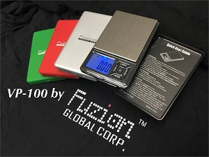 VP-100 Mini Digital Pocket Scale 100g x 0.01g Silver Finish