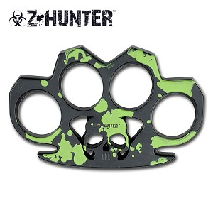 Zombie Hunter Green Tactical Knuckle