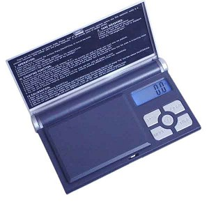 Fuzion Notebook Digital Pocket Scale 100g x 0.01g